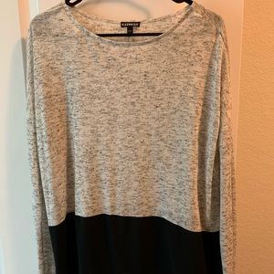 Two toned express long sleeve
